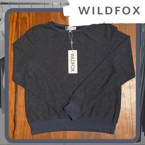 NWT WILDFOX Baggy Beach Jumper (Oxford)